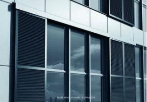 Exterior Sunshade Sliding Aluminium Louvre Window pictures & photos