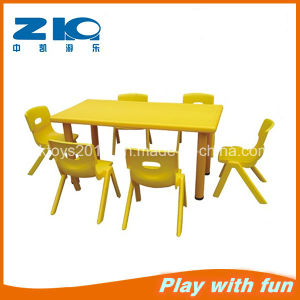 Indoor Plastic Rectangle Tables for Preschool pictures & photos