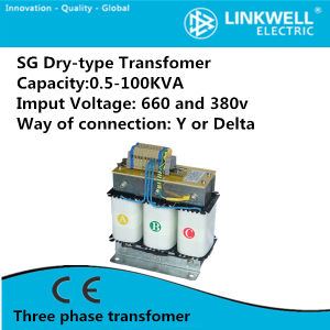 380V 600V Dry-Type Three Voltage Transformer (SG) pictures & photos
