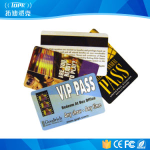 PVC 13.56 MHz RFID Hotel Key Card for Access Control pictures & photos
