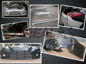 Carbon Fiber Aston Martin Style Body Kits for Rohens Genesis Coupe 2008 pictures & photos