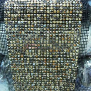Multicolor 24 Row Bling Rhinestone Mesh pictures & photos
