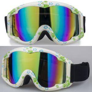 High Quality Design Ski Goggle with Transparent Lens pictures & photos