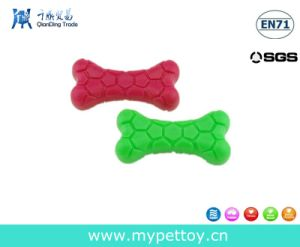 Soft and Natural Rubber Bone Dog Toy pictures & photos