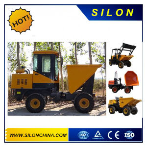 High Quality 5 Ton Mini Site Dumper Truck (4X4WD) pictures & photos