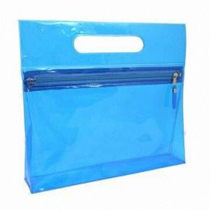 PVC Cosmetic Bag, Easy-to-Carry