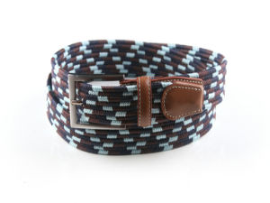 New Fashion Ployester Elastic Braided Belts for Ladies pictures & photos