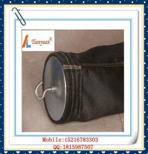 Carbon Black Non Alkali E-PTFE Fiberglass Dust Filter Bag pictures & photos