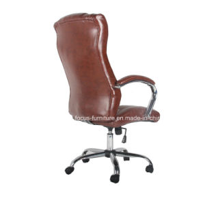 Commercial Manager Director Office Leather Hydraulic Chair (FS-9017) pictures & photos