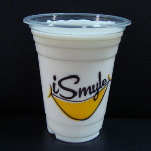 High-Quality of Transparent Plastic Cup with Lid pictures & photos