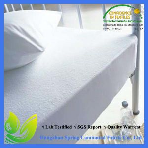 Amazon. Co China Supplier Oeko Tex 100 Healthy Anti-Asthma Fitted Sheet Style Mattress Protector pictures & photos