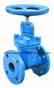 Cast Iron/Ductile Iron Flanged Gate Valves pictures & photos