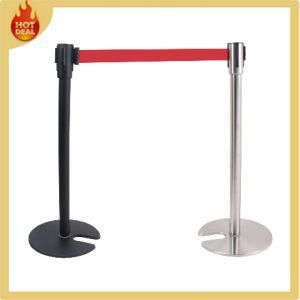 Stackable U Shape Aluminium Retractable Queue Pole pictures & photos