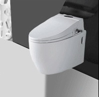 Ceramic Wall-Hung Toilet Bowl Color Hanging Toilet (A-502) pictures & photos
