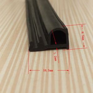 Factory Produce SGS Approval Trim Door Aluminum Window Rubber Seal pictures & photos