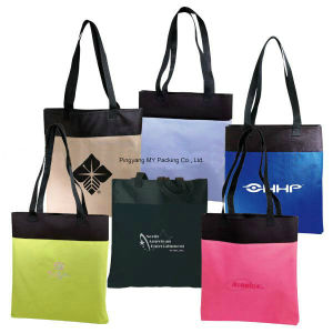 Cheap Price Supermakert Shopping Non Woven Promotion Bag pictures & photos