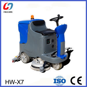 Industrial Driving Floor Scrubber Cleaning Machine pictures & photos