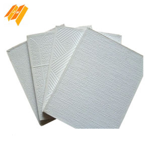 PVC Film Coated Gypsum Board Decorations pictures & photos
