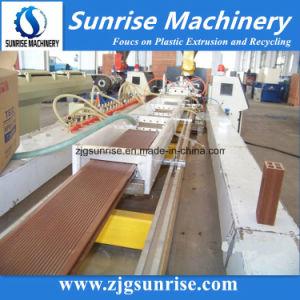 Wood Plastic Composit (WPC) Profile Production Line pictures & photos