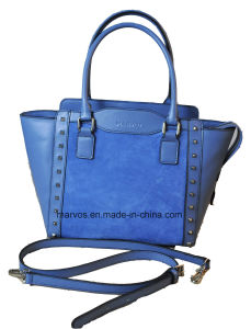 Hight Fashion Women Leather Tote Bag with Hight Quality (M10468) pictures & photos
