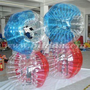 Cheap Bumper Ball Inflatable Ball Half Color TPU Bubble Soccer Bubble Ball Bubble Football Equipment D5017 pictures & photos