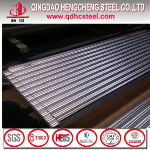 Zinc Coating Corrugated Steel Roofing Sheet pictures & photos