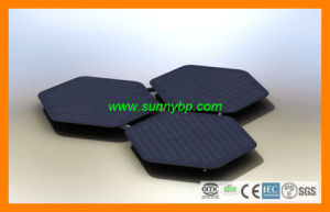 Hexagon Round Polygon Solar Panel pictures & photos