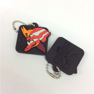 Fashion High Quality Plastic Custom Personalized Key Chains pictures & photos