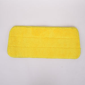 Yellow, Microfiber Cleaning Mop Head, Do Not Shed, Do Not Fade, Custom, Beautiful