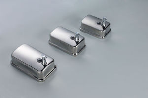 Stainless Steel Wall Mount Manual Liquid Soap Dispenser Hand Shampoo Lotion Dispenser pictures & photos