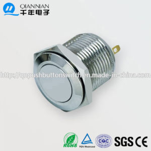16mm 1no Resetable Flat IP67 Ik08 Push Button Switch pictures & photos