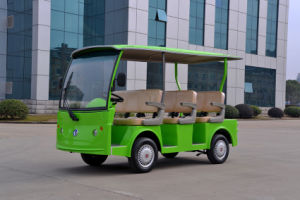 6 Seater Green Electric Car/Vehicle Made by Dongfeng Motor with CE Certificate pictures & photos