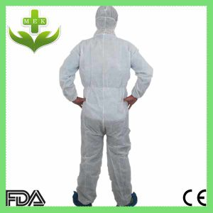 Medical Doctor PP Non Woven Disposable Coverall pictures & photos