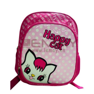 Fashion Cute Kitty Cartoon Kid School Bag pictures & photos