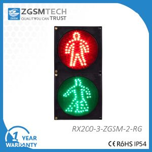 200mm 8 Inch Red Green Walk Man Pedestrian LED Pedestrian Light