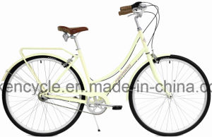 """28"""" Vintage Ladies Old City Bicycle Fashion 3 Speed Pedal Brake City Lady Bicycle pictures & photos"""