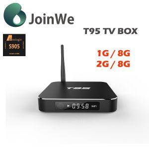 Metal Casing Quad Core Amlogic S905 T95 Ott TV Box pictures & photos