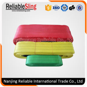 Cargo Lifting Rigging Hardware Polyester Webbing Sling/Lifting Belt pictures & photos
