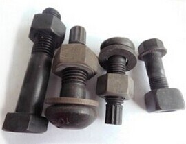 M2-M24 of Black High Strength Steel Bolt with Nut Washer pictures & photos