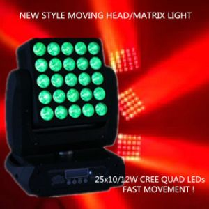 Xlighting 25X10W LED Moving Head Martix Panel Beam Wash pictures & photos