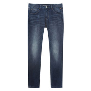 Factory OEM Cotton Jeans Basic Denim Work Trousers Pants