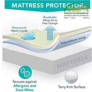Wholesale Single Waterproof Moisture Proof Mattress Encasement pictures & photos
