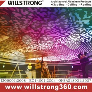 Willstrong Perforated Aluminum Art Ceiling pictures & photos