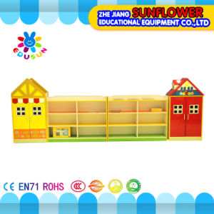 Wooden Toy Cupboard, House Modeling Toys Rack (XYH12131-1) pictures & photos