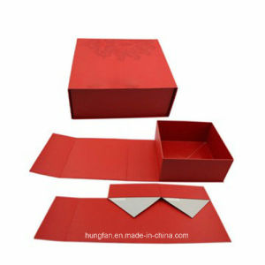 Wholesale Customized Single Color Printing Folding Storage Paper Box pictures & photos