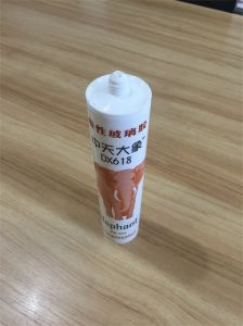 Clear Acetic Glass Silicone Sealant pictures & photos