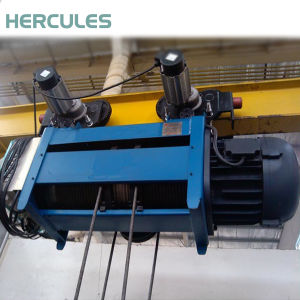 5ton Double Girder Electric Wire Rope Hoist pictures & photos