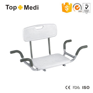 Topmedi Rehabilitation Therapy Supplies Steel Shower Chairs for Bath Tub pictures & photos