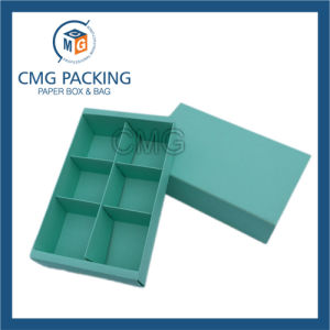 Tiffany Blue Printing Paper Card Divider Macaron Box (CMG-cake box-014) pictures & photos