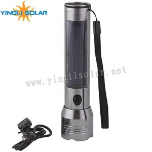 Rechargeable Solar Torch LED Pocket Lamp pictures & photos